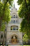 De Bouw van de stad en van de Provincie in Salt Lake City royalty-vrije stock foto