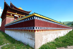 De bouw van de tempel Royalty-vrije Stock Foto's