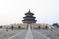 De bouw van de tempel van hemel in Peking Royalty-vrije Stock Foto