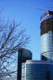 De bouw van de toren Stock Foto