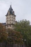 De bouw van de torenstad Royalty-vrije Stock Fotografie