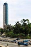 De bouw van de Torreburgemeester in Mexico-City Stock Afbeeldingen