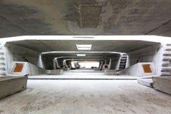 De bouw van de tunnelarchitectuur Royalty-vrije Stock Afbeeldingen