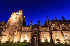 De Bouw van de Universiteit van de Universitaire Koning van Aberdeen Stock Fotografie