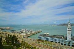 De Bouw van de Veerboot van San Francisco Stock Afbeelding