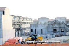 De bouw van de villa Stock Foto