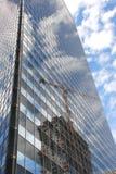 De bouw van de wolkenkrabber Royalty-vrije Stock Foto
