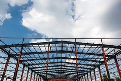 De bouw van de workshop Stock Foto's