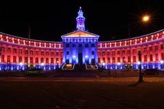 De Bouw van Denver City en van de Provincie: Denver, Colorado royalty-vrije stock fotografie