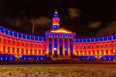 2013 de Bouw van Denver City en van de Provincie Stock Afbeeldingen