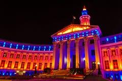 2013 de Bouw van Denver City en van de Provincie Royalty-vrije Stock Foto's