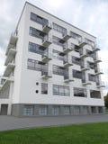 2014 de bouw van Dessau Duitsland Bauhaus Royalty-vrije Stock Afbeeldingen