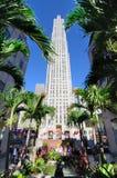 De Bouw van Duitsland op Centrum Rockefeller Stock Fotografie