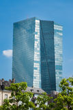 De Bouw van ECB van Frankfurt Stock Afbeelding