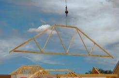 De bouw van een Dak Royalty-vrije Stock Fotografie