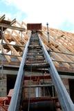 De bouw van een dakbundel Royalty-vrije Stock Fotografie