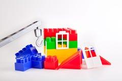 De bouw van een huis Royalty-vrije Stock Fotografie