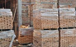 De bouw van een Huis Stock Afbeeldingen