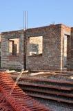 De bouw van een Huis Stock Foto