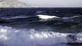 De bouw van golven Royalty-vrije Stock Foto