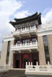 De bouw van grote zaal van het chongqing van stad royalty-vrije stock foto