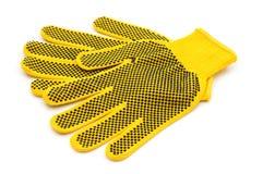 De bouw van handschoenen Stock Fotografie