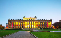 De bouw van het Altesmuseum in Berlijn, Duitsland Stock Afbeeldingen