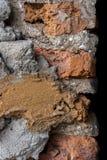 De bouw van het baksteencement Royalty-vrije Stock Foto