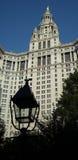 De Bouw van het beleid, NYC. royalty-vrije stock afbeelding