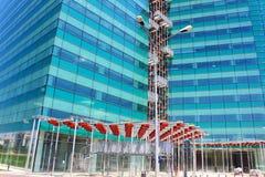 De bouw van het bureau Stock Afbeelding
