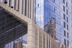 De bouw van het bureau Stock Fotografie