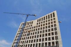 De bouw van het bureau in aanbouw Stock Fotografie