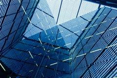 De bouw van het bureau abstractie Royalty-vrije Stock Foto