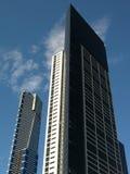 De Bouw van het bureau - Southbank, Melbourne, Australië Stock Foto's