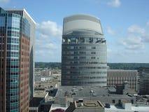 De Bouw van het Bureau van de wolkenkrabber Stock Afbeeldingen