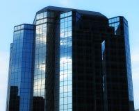 De Bouw van het Bureau van het glas Stock Fotografie