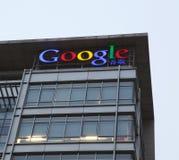 De bouw van het Bureau van Peking van Google Stock Fotografie