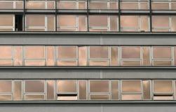 De bouw van het bureau vensters stock afbeeldingen