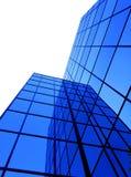 De bouw van het bureau vensters Stock Afbeelding
