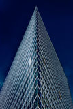 De bouw van het bureauglas in samenvatting Royalty-vrije Stock Fotografie