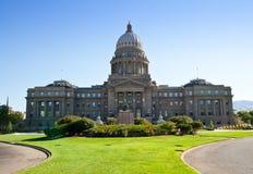 De bouw van het Capitool in Boise, Idaho Stock Fotografie