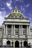 De Bouw van het Capitool in Harrisburg, PA Royalty-vrije Stock Foto