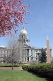 De Bouw van het Capitool van Colorado stock foto's