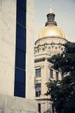 De Bouw van het Capitool van de staat in Atlanta stock foto's