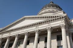 De Bouw van het Capitool van de staat, Salt Lake City Stock Foto's
