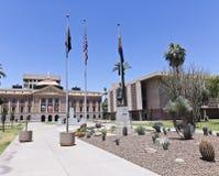 De bouw van het Capitool van de Staat van Arizona in Phoenix, Arizona Stock Fotografie