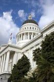 De Bouw van het Capitool van de Staat van Californië Stock Foto