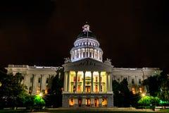 De Bouw van het Capitool van de Staat van Californië Royalty-vrije Stock Foto