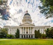 De Bouw van het Capitool van de Staat van Californië Stock Afbeeldingen