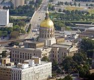De Bouw van het Capitool van de Staat van Georgië Stock Afbeelding
